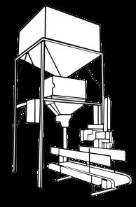 Sistema de pesaje electrónico y cosedora